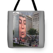 Cool Crowd Tote Bag