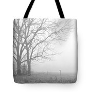 Cool Damp Foggy Tote Bag