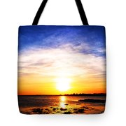 Cool Fire Tote Bag