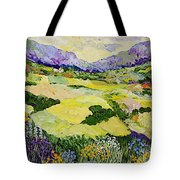 Cool Grass Tote Bag