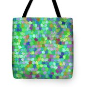 Cool Green Splash Art Tote Bag