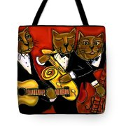 Cool Jazz Cats Tote Bag