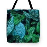 Cool Leafy Green Tote Bag