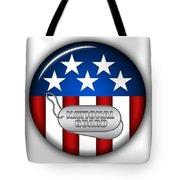 Cool National Guard Insignia Tote Bag