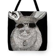 Cool Rabbit Tote Bag
