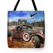 Cool Rusty Classic Ride Tote Bag