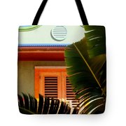 Cool Tropics Tote Bag by Karen Wiles