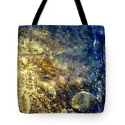 Cool Waters...of The Rifle River Tote Bag