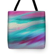 Cool Waves - Abstract - Digital Painting Tote Bag