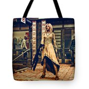 Coolest Cat In Town Tote Bag