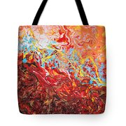 Cooling Lava Tote Bag