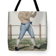 Cooper The Gipsy, Engraved By P Tote Bag