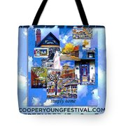 Cooper Young Festival Poster 2008 Tote Bag