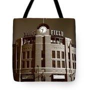 Coors Field - Colorado Rockies 20 Tote Bag