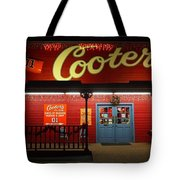 Cooters At Christmas Tote Bag by Dan Sproul