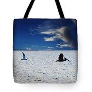Copano Bay Sunset Flight Tote Bag