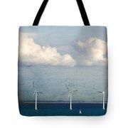 Copenhagen Wind Turbines Tote Bag