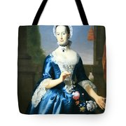 Copley's Anne Fairchild Bowler -- Mrs. Metcalf Bowler Tote Bag