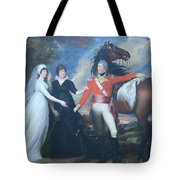 Copley's Colonel William Fitch And His Sisters Sarah And Ann Fitch Tote Bag