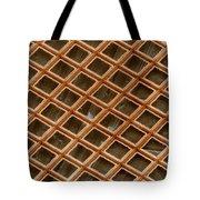 Copper Electron Micrograph Grid Tote Bag