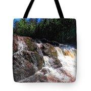 Copper Falls Tote Bag