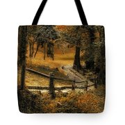 Copper Field Tote Bag