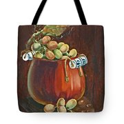 Copper Kettle Of Grapes Tote Bag