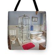 Copper King Victorian Bathroom - Butte Montana Tote Bag