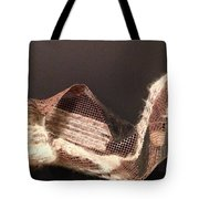 Copper Mesh Tote Bag by Erika Chamberlin