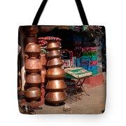 Copper Pots Tote Bag