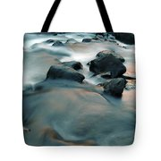 Copper Stream 1 Tote Bag by Roger Snyder