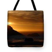 Copper Sunset Tote Bag