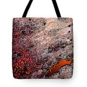 Copperspill Tote Bag