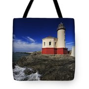 Coquille River Lighthouse 3 Tote Bag