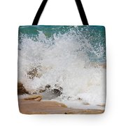Coquina Waves Tote Bag