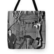 Cora Camoin Walks On Ceiling Tote Bag