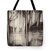 Coral Carving. Maldives Tote Bag by Jenny Rainbow