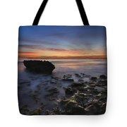 Coral Cove Beach At Dawn Tote Bag