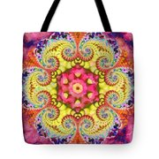 Coral Ecstacy Tote Bag