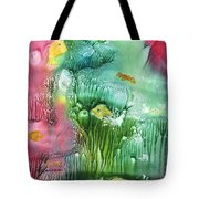 Coral Fishies Tote Bag