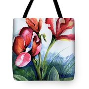 Coral Flower Study Tote Bag