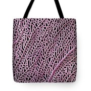 Coral From Guadalupe Tote Bag