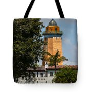 Coral Gables House And Water Tower Tote Bag