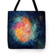 Coral Nebula Tote Bag