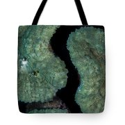 Coral Puzzle Tote Bag