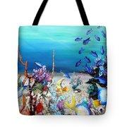 Coral Reef Blues  Tote Bag