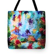 Coral Reef Impression 16 Tote Bag