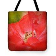 Coral Rose Tote Bag