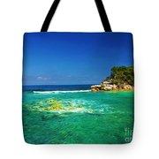 Coral Seas Haiti Tote Bag