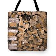 Cord Wood Tote Bag